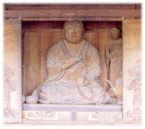 木造弘法大師坐像