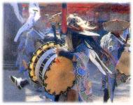 東方太鼓踊りの写真